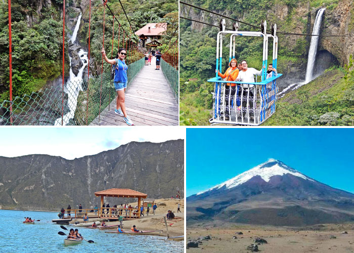 Tours full day Baños - Cotopaxi - Quilotoa